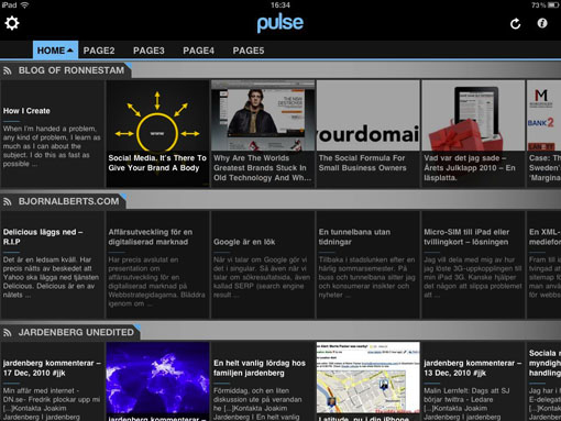 Pulse News, Pulse, app, iPad