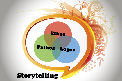 Storytelling, Ethos, Pathos, Logos