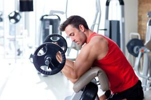 styrketräning med fria vikter