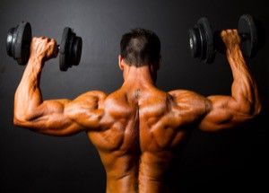 Hantlar styrketräning med fria vikter