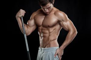 bygga muskler med fria vikter