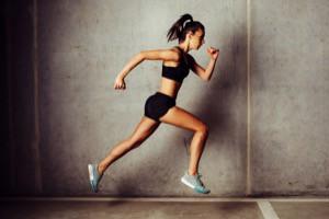 löpning för att bli smal och deffad