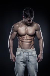 Bygga muskler platt mage