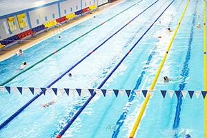simning träning puls