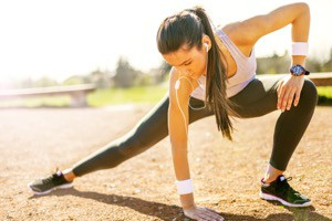 träning stretching vila