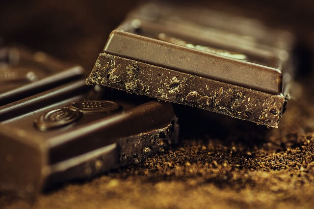 mörk choklad