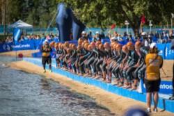 simning tävling