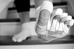 fötter blåsor löpning
