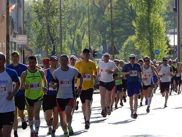 Marathon, maraton löpning