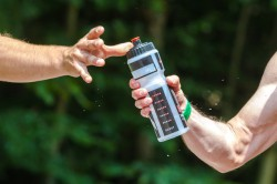 sportdryck i löpning, vätskebalans