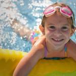 simning barn